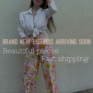 Brand new pieces arriving soon!
